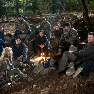 Isabel Lucas, Josh Peck, Josh Hutcherson, Adrianne Palicki, Jeffrey Dean Morgan and Chris Hemsworth in FilmDistrict's Red Dawn (2012)