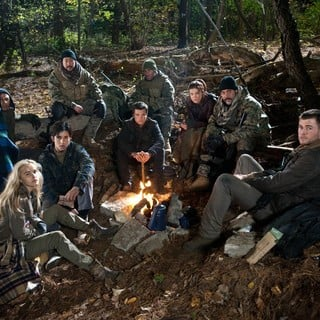 Isabel Lucas, Josh Peck, Josh Hutcherson, Adrianne Palicki, Jeffrey Dean Morgan and Chris Hemsworth in FilmDistrict's Red Dawn (2012) - red-dawn-image07