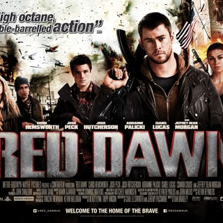 Poster of FilmDistrict's Red Dawn (2012) - red-dawn-poster04