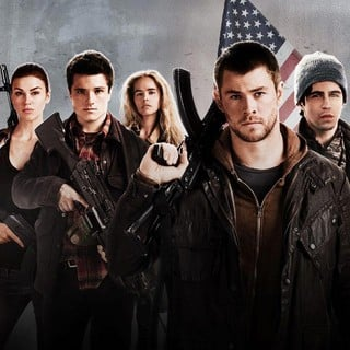 Adrianne Palicki, Josh Hutcherson, Isabel Lucas, Chris Hemsworth and Josh Peck in FilmDistrict's Red Dawn (2012)