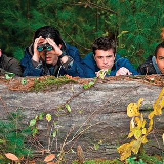 Chris Hemsworth, Josh Hutcherson and Connor Cruise in FilmDistrict's Red Dawn (2012)