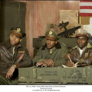 Tristan Wilds, Nate Parker and David Oyelowo in The 20th Century Fox's Red Tails (2012)