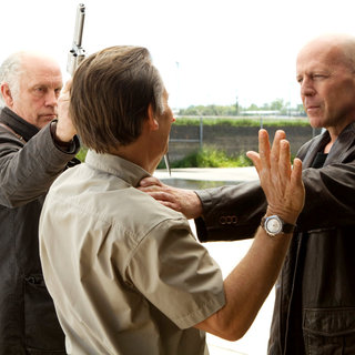 John Malkovich stars as Marvin Boggs and Bruce Willis stars as Frank Moses in Summit Entertainment's Red (2010)