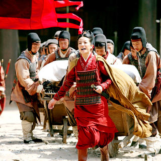 Zhao Wei stars as Sun Shangxiang in Magnolia Pictures' Red Cliff (2009)