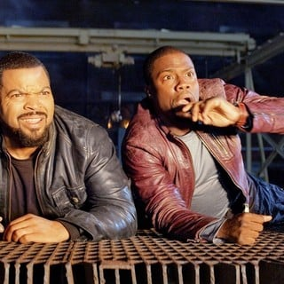 Ride Along - Ice Cube stars as James Payton and Kevin Hart stars as Ben Barber in Universal Pictures' Ride Along (2014)