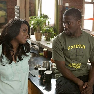 Ride Along - Tika Sumpter stars as Angela Payton and Kevin Hart stars as Ben Barber in Universal Pictures' Ride Along (2014). Photo credit by Quantrell D. Colbert.