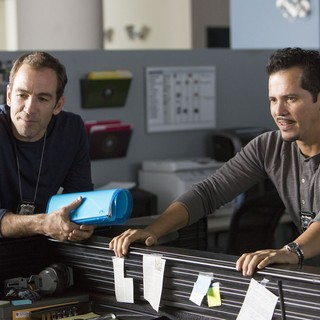 Ride Along - Bryan Callen stars as Miggs and John Leguizamo stars as Santiago in Universal Pictures' Ride Along (2014)