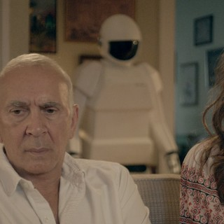 Frank Langella stars as Frank and Liv Tyler stars as Madison in Samuel Goldwyn Films' Robot and Frank (2012)
