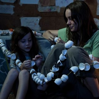 Jacob Tremblay stars as Jack and Brie Larson stars as Ma in A24's Room (2015)