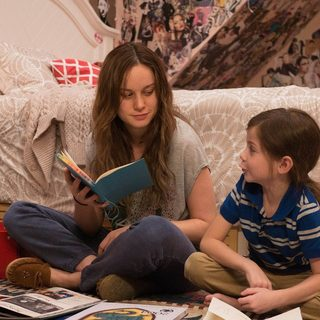 Brie Larson stars as Ma and Jacob Tremblay stars as Jack in A24's Room (2015)