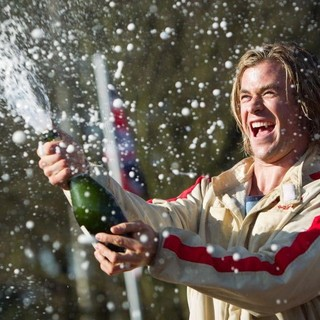 Rush - Chris Hemsworth stars as James Hunt in Universal Pictures' Rush (2013)