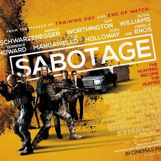 Poster of Open Road Films' Sabotage (2014) - sabotage-poster02
