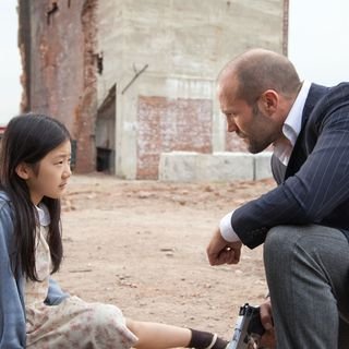 Catherine Chan stars as Mei and Jason Statham stars as Luke Wright in Lionsgate Films' Safe (2012)