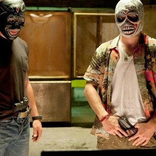 Taylor Kitsch stars as Chon and Aaron Johnson stars as Ben in Universal Pictures' Savages (2012)
