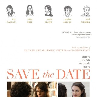 Poster of IFC Films' Save the Date (2012) - save-the-date-poster01