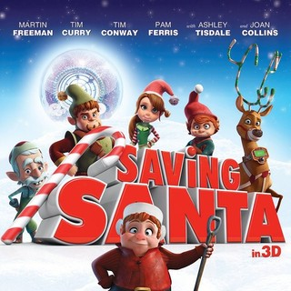 Poster of Cinema Management Group's Saving Santa (2013)