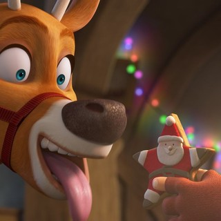 A scene from Cinema Management Group's Saving Santa (2013)
