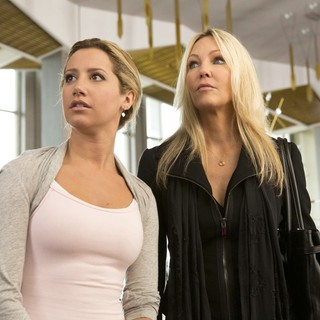 Ashley Tisdale stars as Jody and Heather Locklear stars as Barbara in Dimension Films' Scary Movie 5 (2013) - scary-movie-5-image09