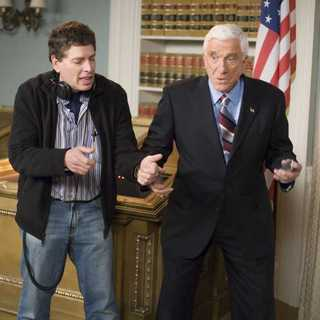Leslie Nielsen as President Harris in Miramax Films' Scary Movie 4 (2006)