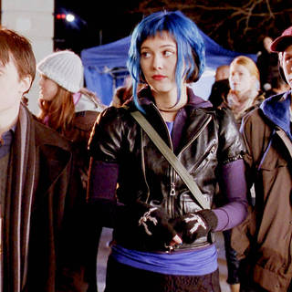 Kieran Culkin, Mary Elizabeth Winstead and Michael Cera in Universal Pictures' Scott Pilgrim vs. the World (2010)