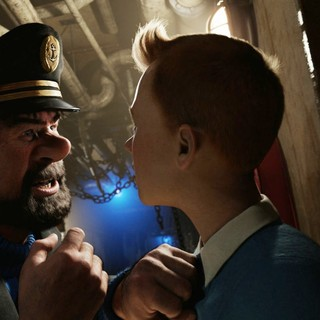 Adventures of Tintin: The Secret of the Unicorn, The - A scene from Paramount Pictures' The Adventures of Tintin: The Secret of the Unicorn (2011)