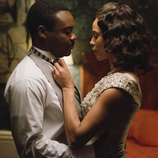 David Oyelowo stars as Martin Luther King Jr. and Carmen Ejogo stars as Coretta Scott King in Paramount Pictures' Selma (2014)