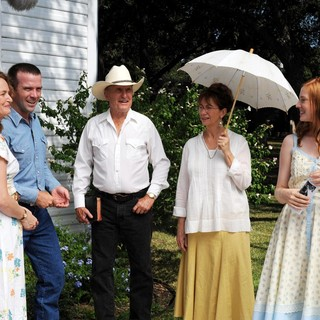 Robert Duvall, Kathy Baker, Lucas Black, Melissa Leo and Deborah Ann Woll in Utopia Pictures' Seven Days in Utopia (2011) - seven-days-in-utopia05