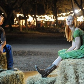 Lucas Black stars as Luke Chisholm and Deborah Ann Woll stars as Sarah in Utopia Pictures' Seven Days in Utopia (2011). Photo credit by Van Redin. - seven-days-in-utopia07