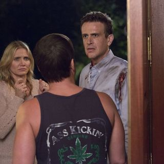 Sex Tape - Cameron Diaz stars as Annie and Jason Segel stars as Jay in Columbia Pictures' Sex Tape (2014)