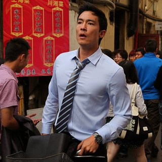 Daniel Henney stars as Sam in Starz Media's Shanghai Calling (2013)