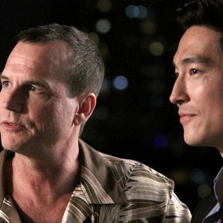 Bill Paxton stars as Donald and Daniel Henney stars as Sam in Starz Media's Shanghai Calling (2013)
