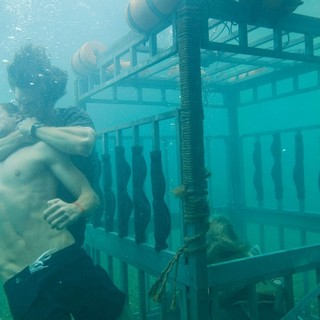 Dustin Milligan stars as Nick and Chris Carmack stars as Dennis in Relativity Media's Shark Night 3D (2011)