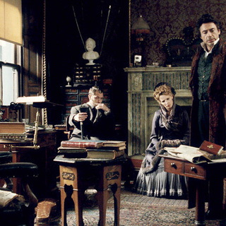 Sherlock Holmes - Jude Law, Kelly Reilly and Robert Downey Jr. in Warner Bros. Pictures' Sherlock Holmes (2009)