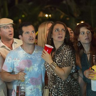 John Leguizamo stars as Dave and Maya Rudolph stars as Brinda in Universal Pictures' Sisters (2015) - sisters07