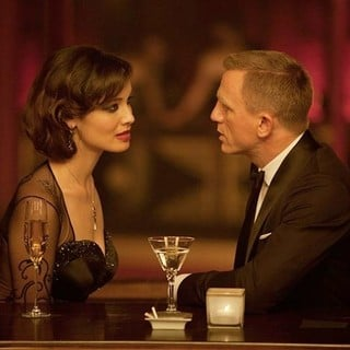 Skyfall - Berenice Marlohe stars as Severine and Daniel Craig stars as James Bond in Columbia Pictures' Skyfall (2012)