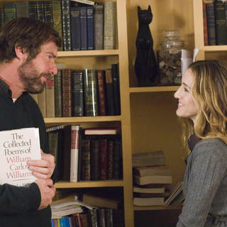 Dennis Quaid as Lawrence Wetherhold and Sarah Jessica Parker as Janet in Miramax Films' Smart People (2008)