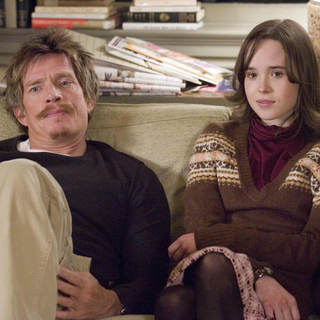 Thomas Haden Church as Chuck and Ellen Page as Vanessa Wetherhold in Miramax Films' Smart People (2008)