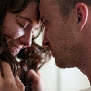 Mary Elizabeth Winstead stars as Kate Hannah and Aaron Paul stars as Charlie Hannah in Sony Pictures Classics' Smashed (2012)