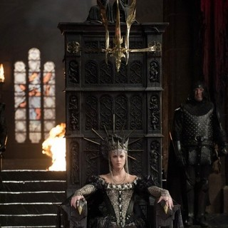 Charlize Theron stars as Queen Ravenna in Universal Pictures' Snow White and the Huntsman (2012)