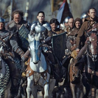 Snow White and the Huntsman - Kristen Stewart stars as Snow White and Chris Hemsworth stars as The Huntsman in Universal Pictures' Snow White and the Huntsman (2012)