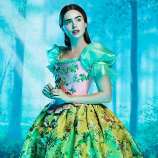 Lily Collins stars as Snow White in Relativity Media's Mirror Mirror (2012). Photo credit by Matthew Rolston.