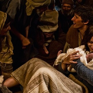 Joe Coen stars as Joseph and Leila Mimmack stars as Young Mary in 20th Century Fox's Son of God (2014)