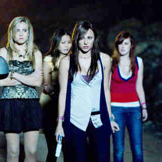 Leah Pipes, Jamie Chung, Briana Evigan and Rumer Willis in Summit Entertainment's Sorority Row (2009)