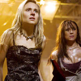Leah Pipes stars as Jessica and Briana Evigan stars as Cassidy in Summit Entertainment's Sorority Row (2009)