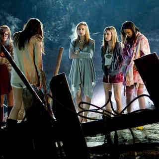Rumer Willis, Briana Evigan, Leah Pipes, Margo Harshman and Jamie Chung in Summit Entertainment's Sorority Row (2009)