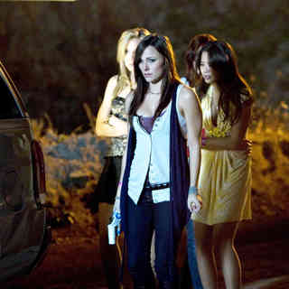 Leah Pipes, Briana Evigan, Rumer Willis and Jamie Chung in Summit Entertainment's Sorority Row (2009)