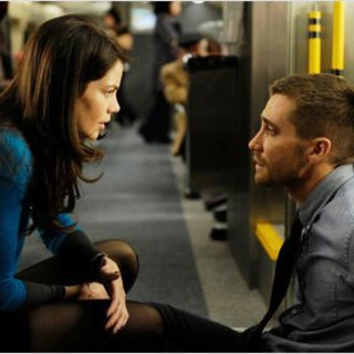 Michelle Monaghan stars as Christina and Jake Gyllenhaal stars as Colter Stevens in Summit Entertainment's Source Code (2011)