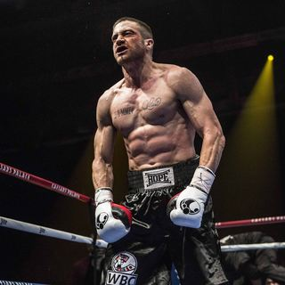 Jake Gyllenhaal stars as Billy Hope in The Weinstein Company's Southpaw (2015)