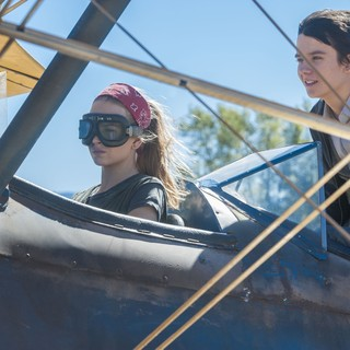 Britt Robertson stars as Tulsa and Asa Butterfield stars as Gardner Elliot in STX Entertainment's The Space Between Us (2017) - space-between-us05