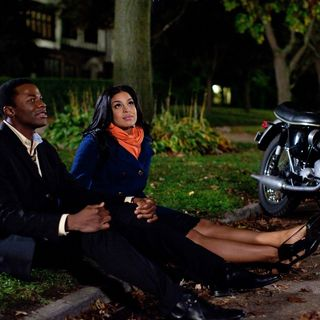 Derek Luke stars as Stix and Jordin Sparks stars as Sparkle Williams in TriStar Pictures' Sparkle (2012). Photo credit by Alicia Gbur.
